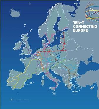 Ilustracja do informacji: Otwarte konsultacje w ramach przeglądu Transeuropejskich Sieci Transportowych TEN-T
