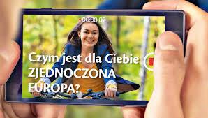 """Ilustracja do informacji: Konkurs dla młodzieży """"Czym jest dla Ciebie zjednoczona Europa""""?"""