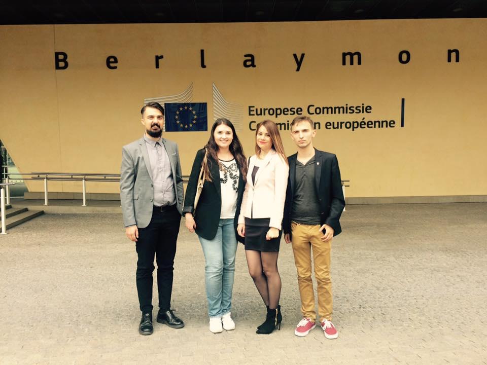 Ilustracja do informacji: Projekt yBBregions: III edycja Europejskiego Wolontariatu EVS w Lubuskim Biurze Regionalnym