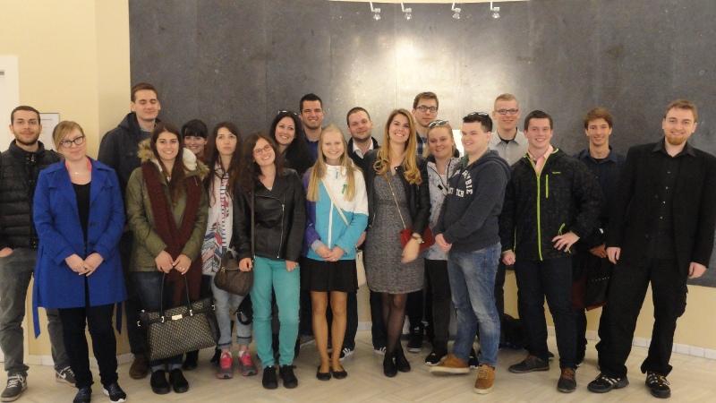 Ilustracja do informacji: Zakończenie międzynarodowej wymiany młodzieży projektu yBBregions