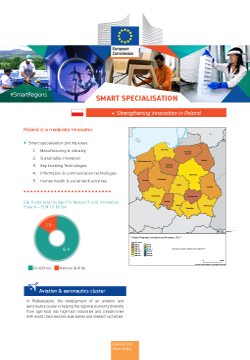 Ilustracja do informacji: Komisja proponuje dalsze wsparcie regionów w zakresie inteligentnych specjalizacji