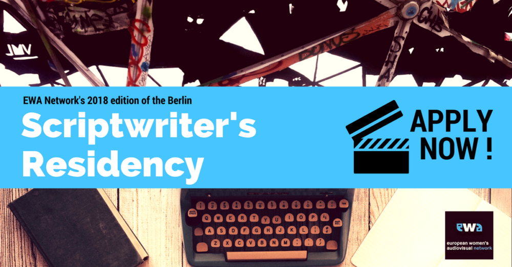 Ilustracja do informacji: Nabór wniosków dla scenarzystek na rezydencję w Berlinie w ramach programu Europejskiej Sieci Audiowizualnej Kobiet