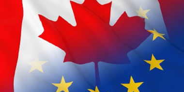 Ilustracja do informacji: Wejście w życie umowy handlowej między UE a Kanadą