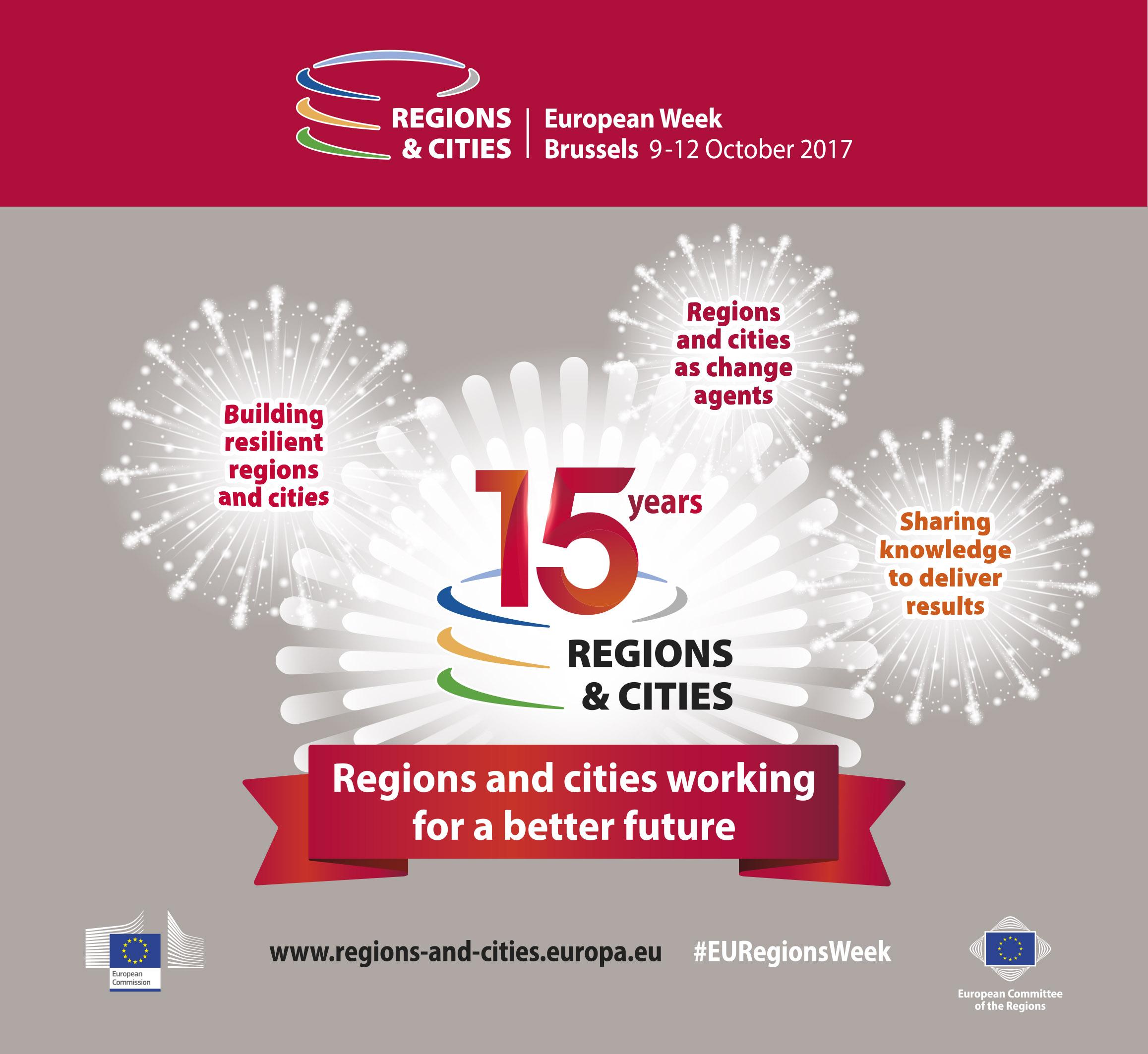 Ilustracja do informacji: Lubuskie uczestniczy w Europejskim Tygodniu Regionów i Miast 2017