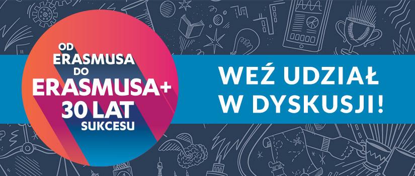 Ilustracja do informacji: Masz wpływ na kształt deklaracji ws. nowej edycji programu Erasmus+. Twój głos ma znaczenie!