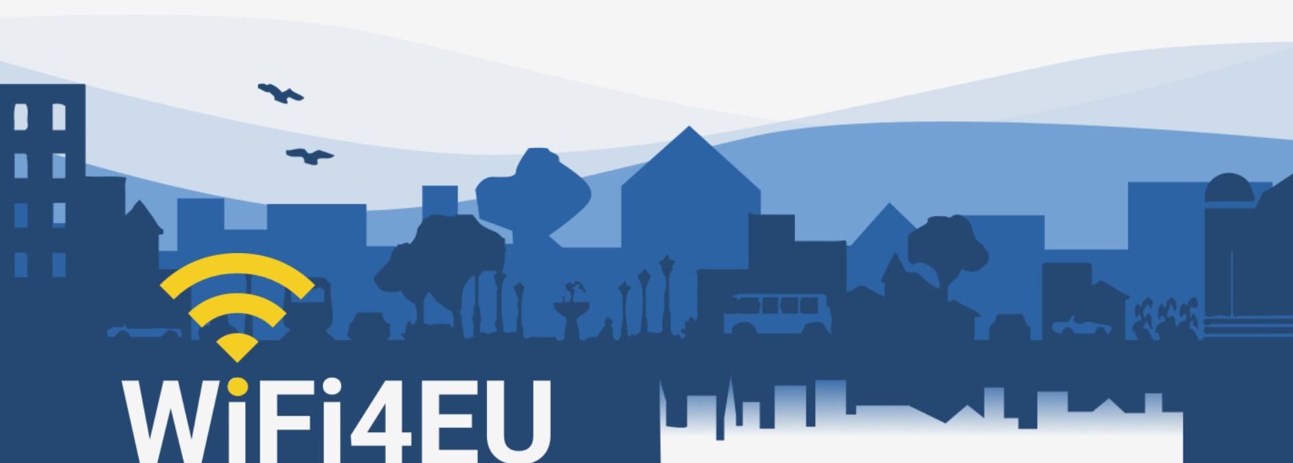 Ilustracja do informacji: II nabór europejskiej inicjatywy WiFi4EU - już 4 kwietnia!