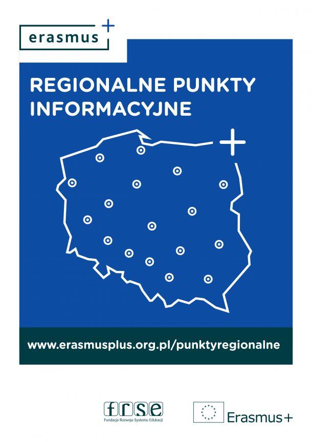 Ilustracja do informacji: Ruszają Regionalne Punkty Informacyjne programu Erasmus+