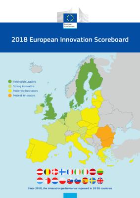 Ilustracja do informacji: Europejski Ranking Innowacyjności 2018
