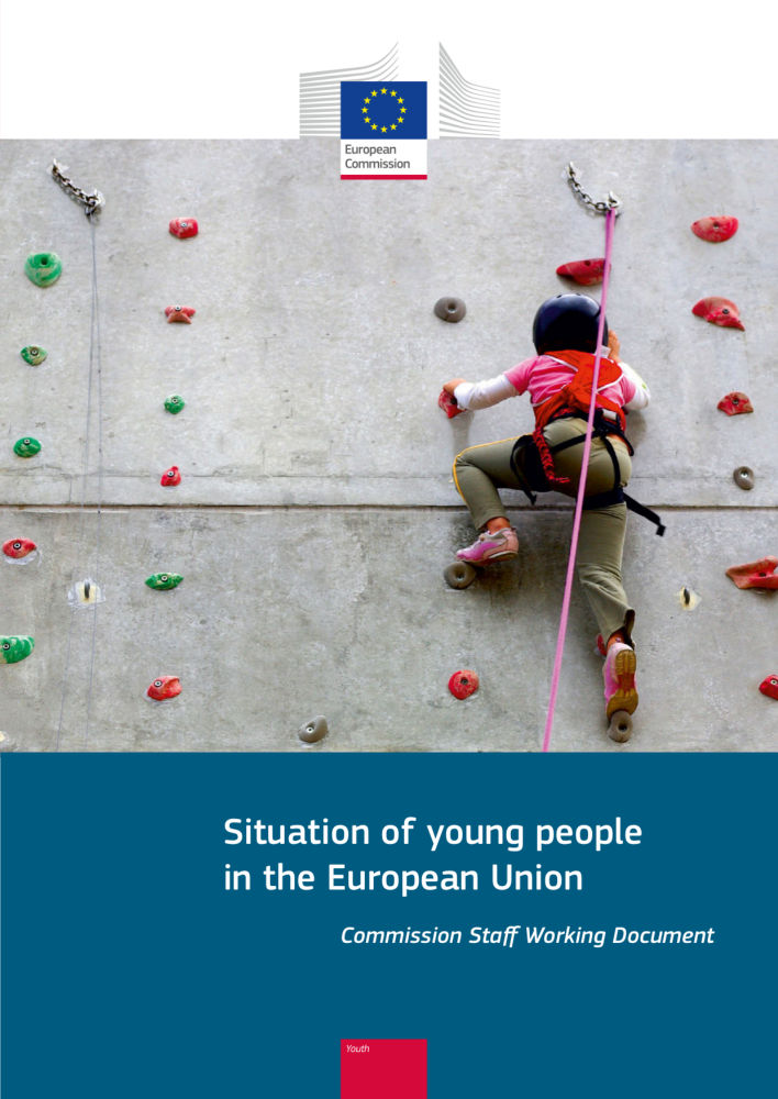 Ilustracja do informacji: Sytuacja młodych ludzi w Unii Europejskiej