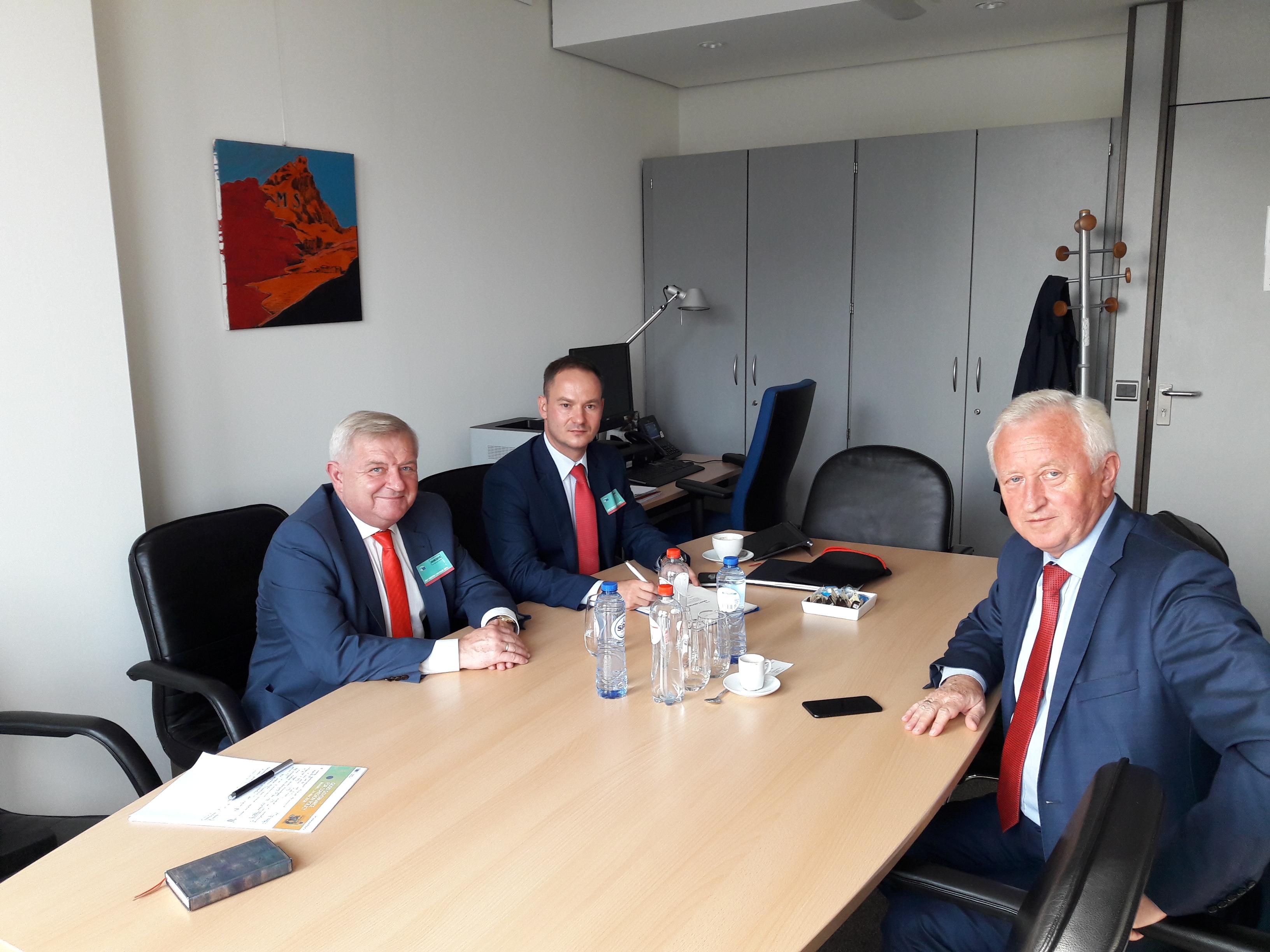 Ilustracja do informacji: W Brukseli rozmów o INTERREG ciąg dalszy