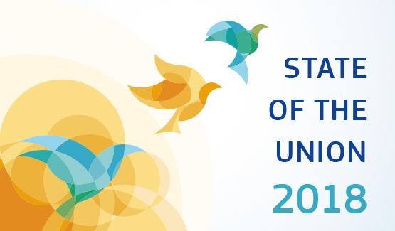 Ilustracja do informacji: Orędzie o stanie Unii 2018