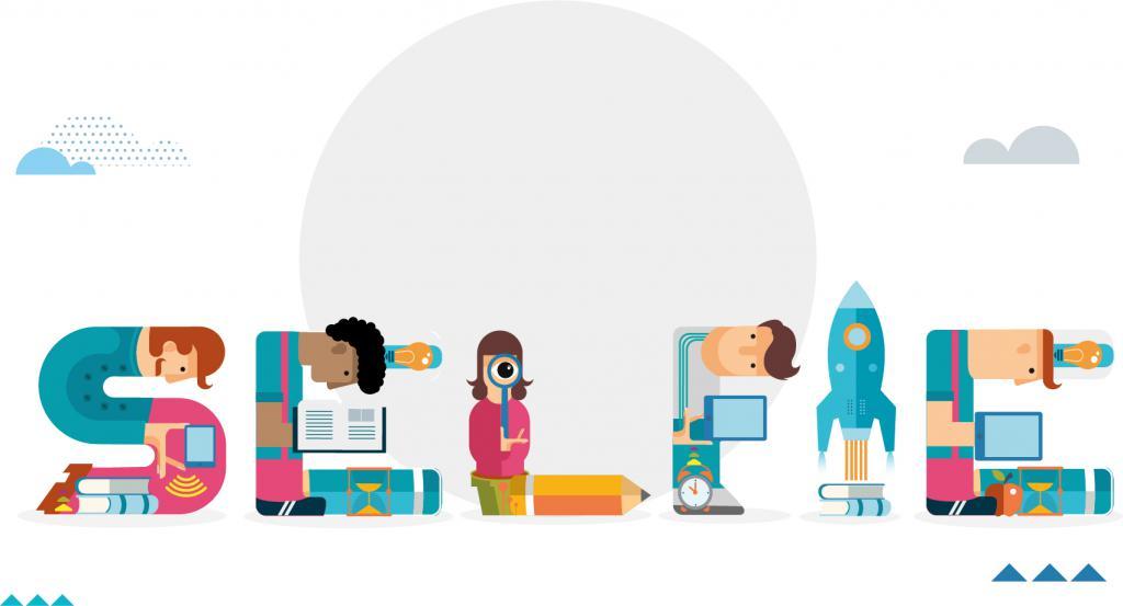 Ilustracja do informacji: SELFIE - nowe narzędzie wspierające cyfrową edukację szkolną