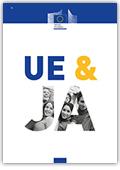 Ilustracja do informacji: UE&ja czyli jak UE wpływa na nasze codzienne życie? Publikacja dla młodzieży