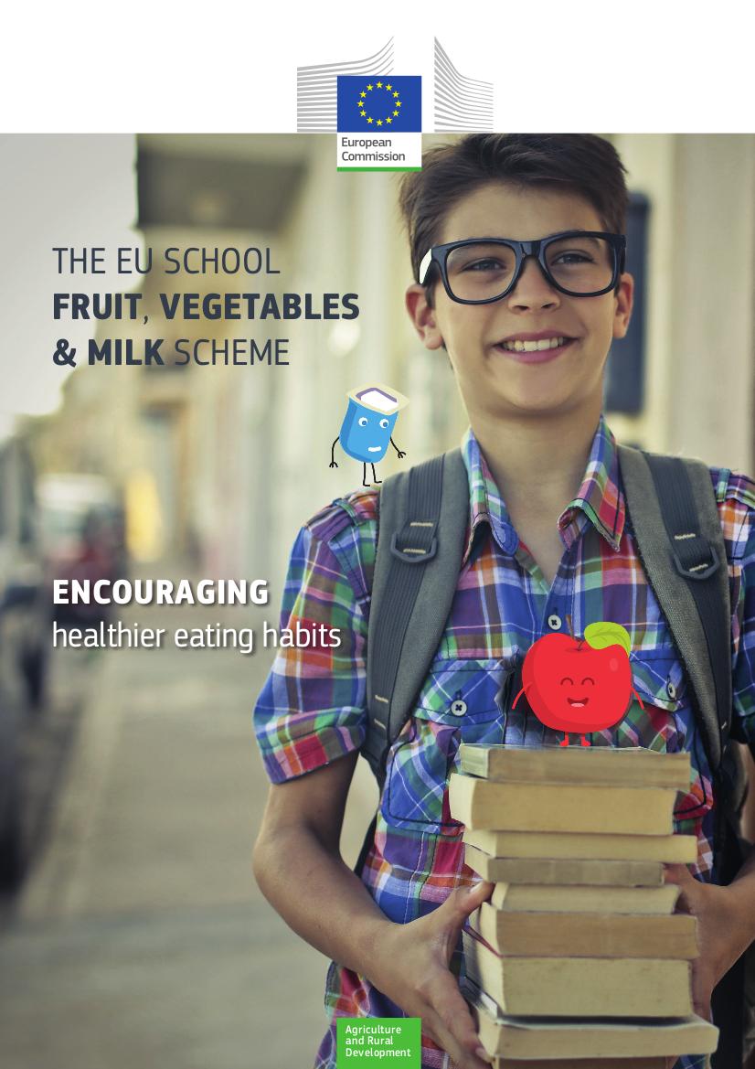 Ilustracja do informacji: 250 mln euro na działania propagujące zdrową żywność wśród europejskich uczniów