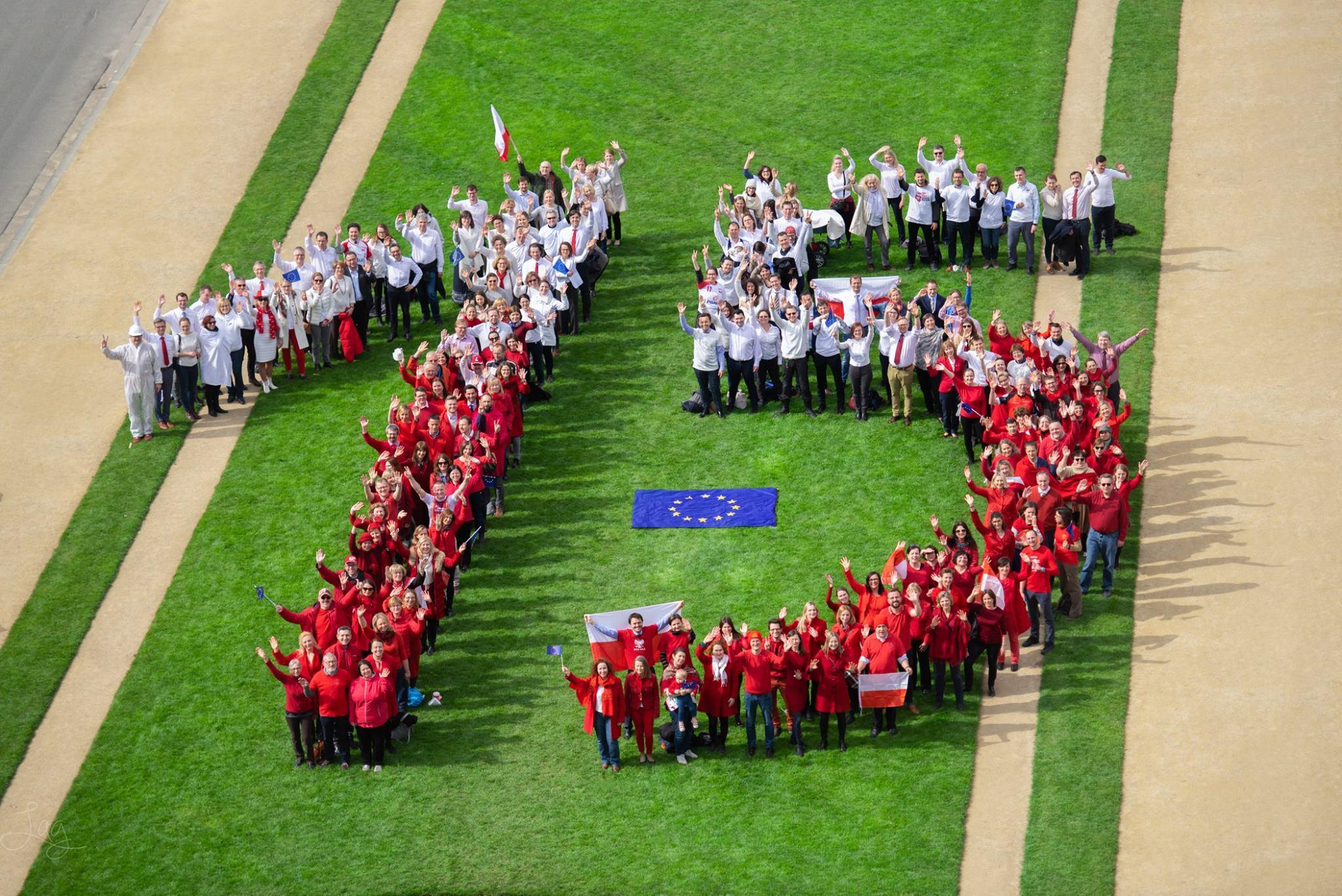 Ilustracja do informacji: 15 lat członkostwa Polski w Unii Europejskiej: tak świętowaliśmy w Brukseli!