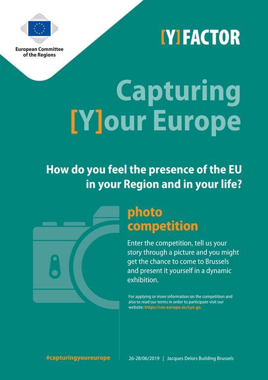 Ilustracja do informacji: Capturing [Y]our Europe - konkurs fotograficzny Europejskiego Komitetu Regionów