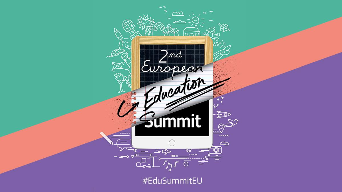 Ilustracja do informacji: Transmisja Europejskiego Szczytu Edukacji 2019