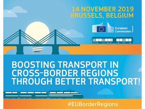 Ilustracja do informacji: Konferencja Komisji Europejskiej odnośnie wzmacniania regionów przygranicznych poprzez lepszy transport