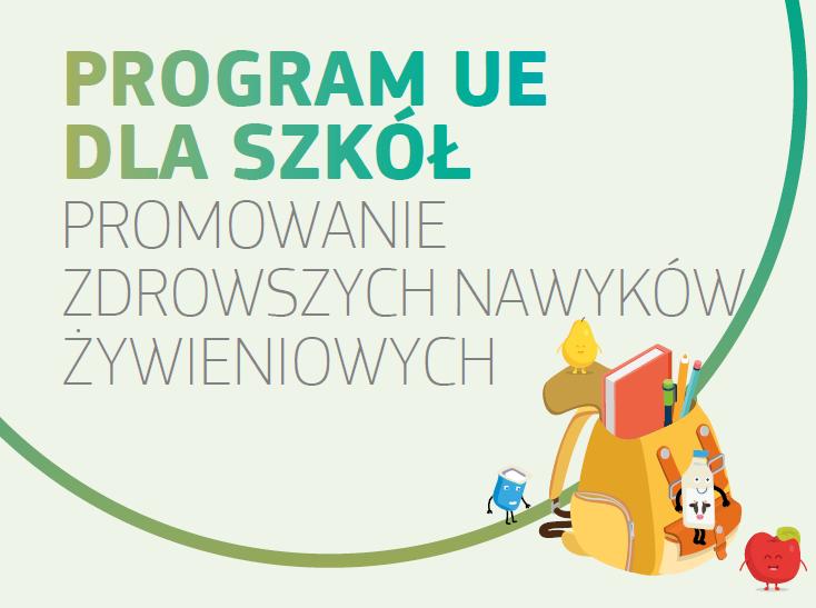 Ilustracja do informacji: Dystrybucja mleka, owoców i warzyw w szkołach dzięki programowi UE