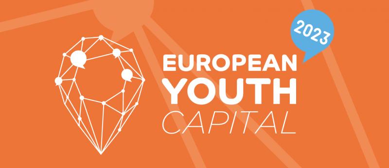 Ilustracja do informacji: Europejska Stolica Młodzieży 2023 - nabór otwarty do 12 stycznia!