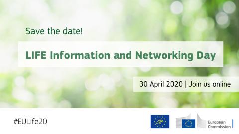 Ilustracja do informacji: 30 kwietnia: Dzień informacyjny programu LIFE on-line!