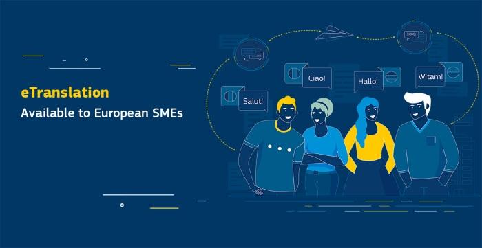 Ilustracja do informacji: eTranslation: unijne narzędzie tłumaczenia maszynowego już dostępne dla MŚP