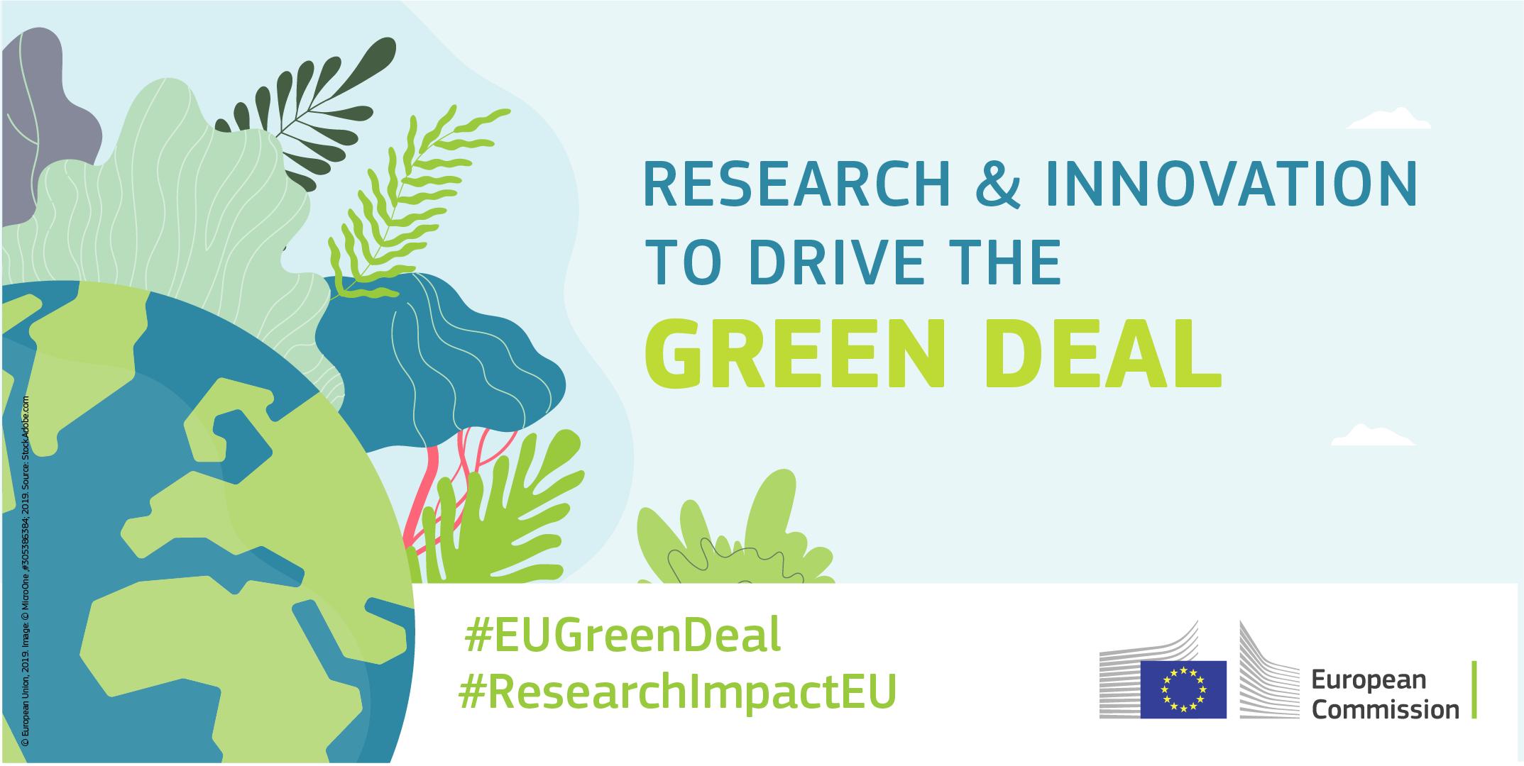 Ilustracja do informacji: Horyzont 2020 na rzecz realizacji celów Europejskiego Zielonego Ładu: wyraź swoją opinię na temat pierwszych naborów