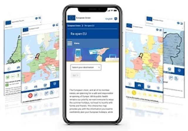 Ilustracja do informacji: Re-open EU: informacje o podróżowaniu po UE na jednej platformie!