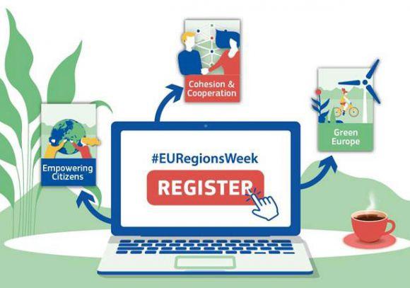Ilustracja do informacji: Ruszyła rejestracja na Europejski Tydzień Regionów i Miast 2020