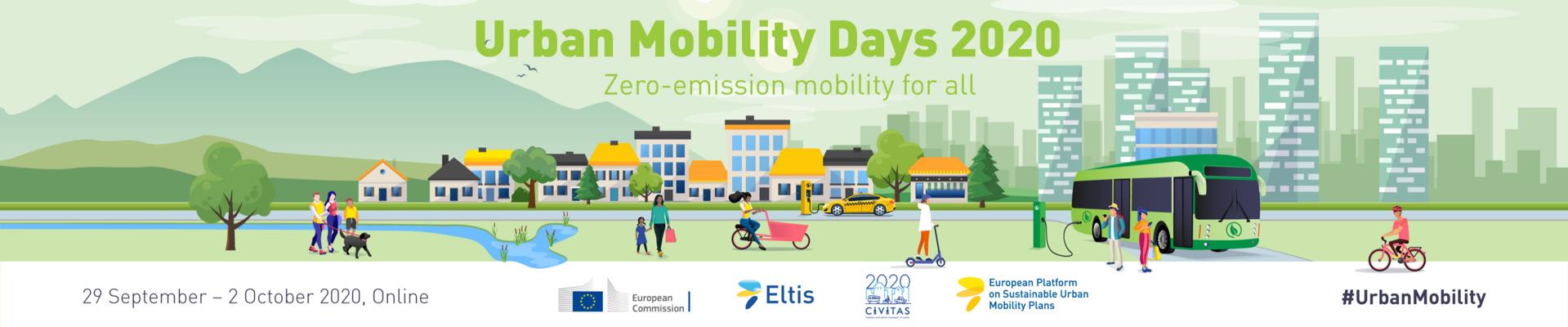 Ilustracja do informacji: Pierwsza edycja Dni Mobilności Miejskiej już 29 września!