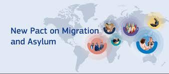 Ilustracja do informacji: Nowy pakt o migracji i azylu