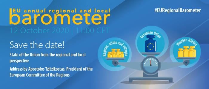 Ilustracja do informacji: Barometr lokalny i regionalny UE 2020 - pierwsze regionalne orędzie o UE