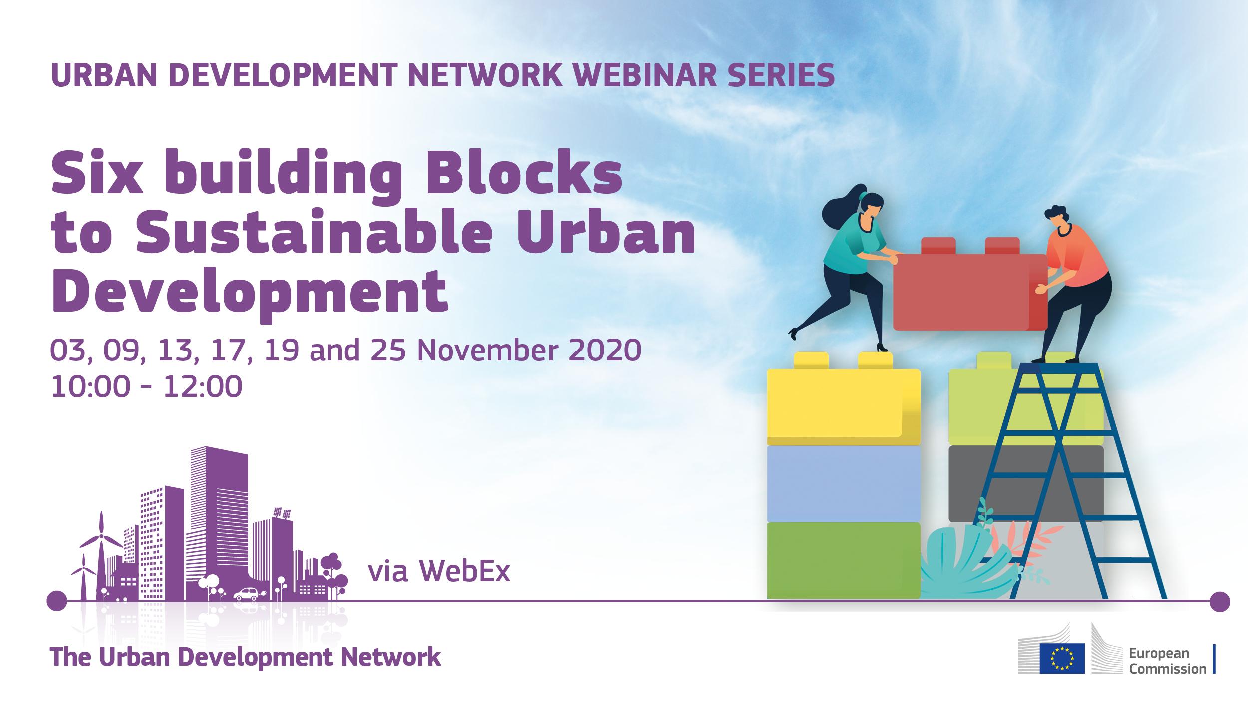 Ilustracja do informacji: Listopadowy cykl webinariów dla ekspertów zrównoważonego rozwoju miejskiego