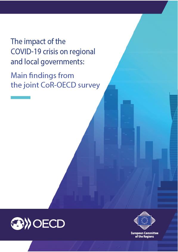 Ilustracja do informacji: Wyniki badania KR i OECD o wpływie COVID-19 na samorządy regionalne i lokalne UE