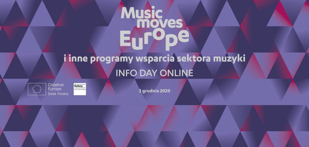 Ilustracja do informacji: Dzień informacyjny Music Moves Europe oraz innych programów wsparcia sektora muzyki