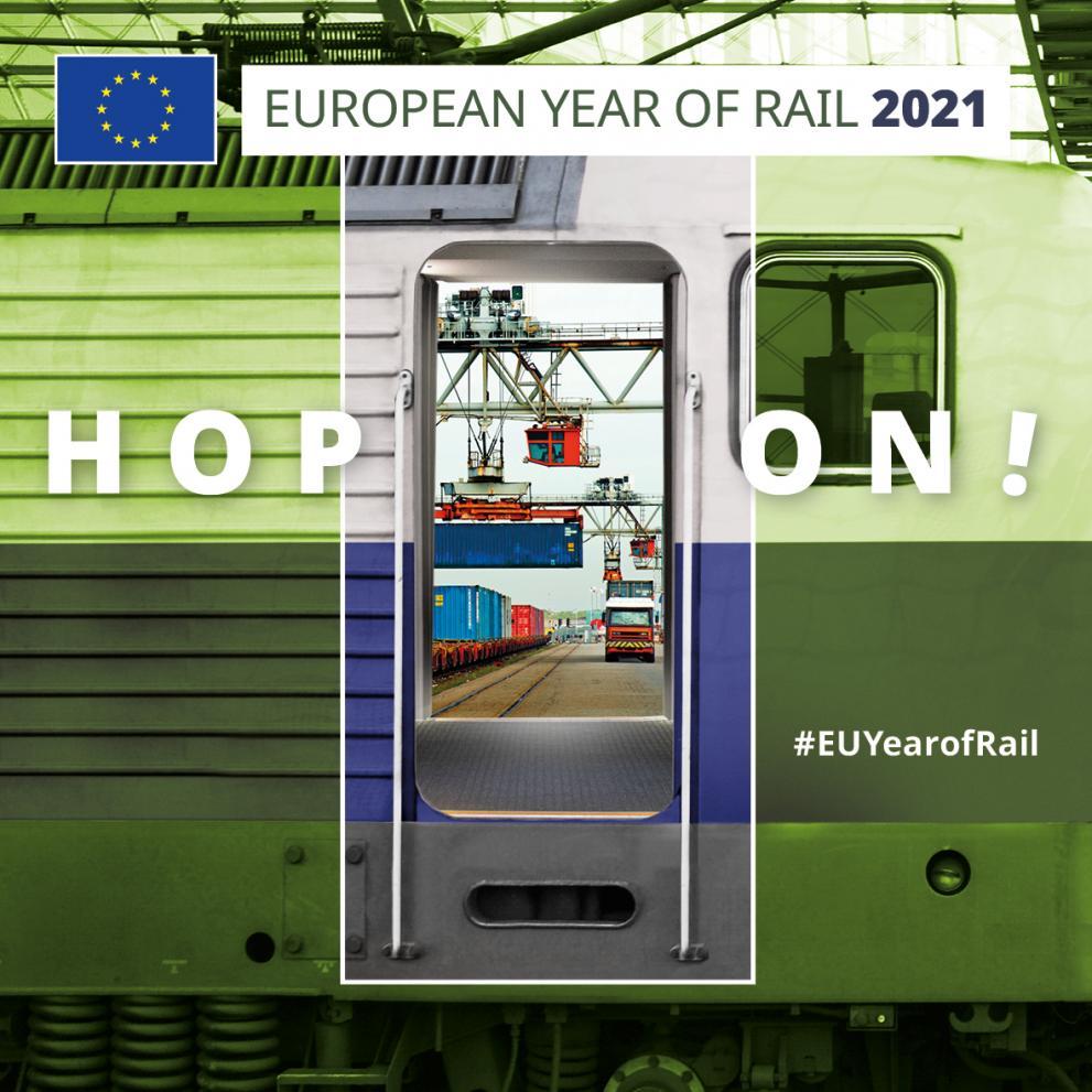 Ilustracja do informacji: 2021. Europejskim Rokiem Kolei