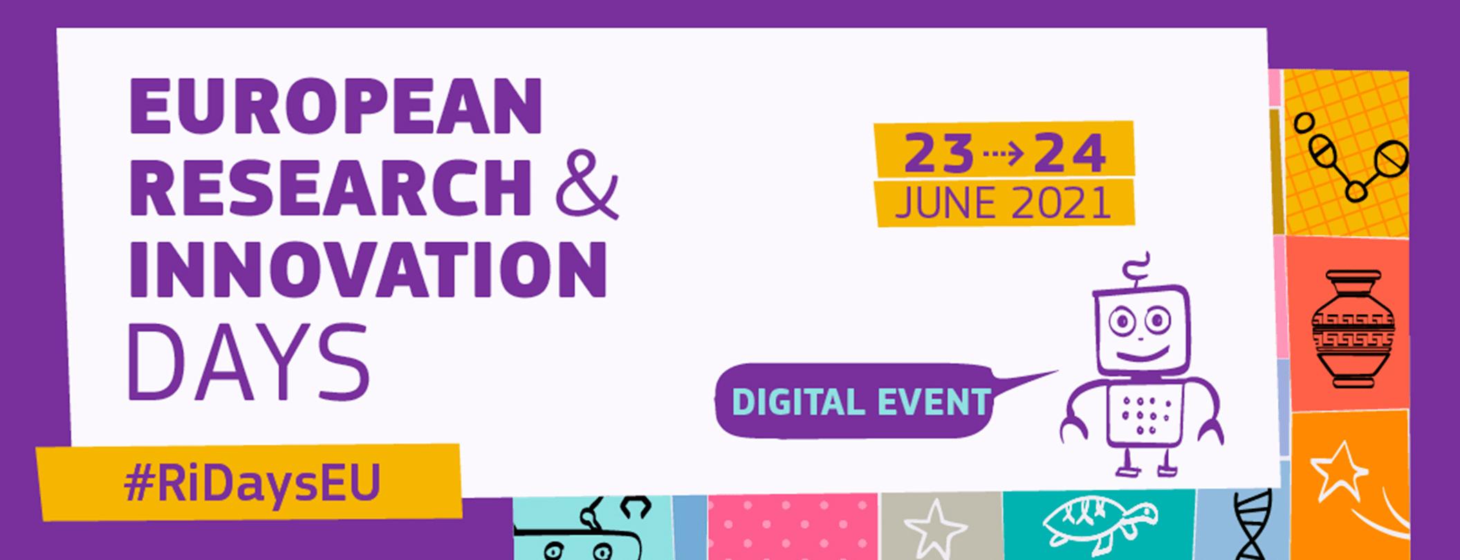 Ilustracja do informacji: Europejskie Dni Badań i Innowacji 2021