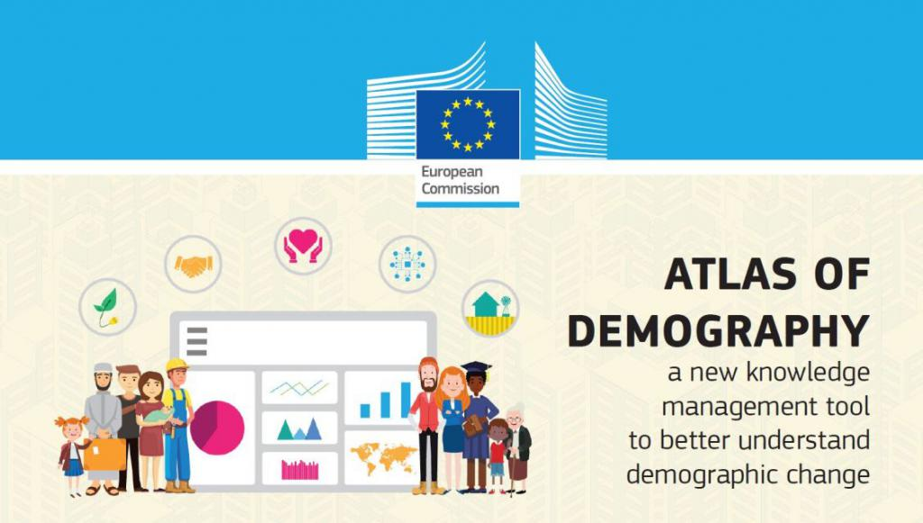Ilustracja do informacji: Atlas Demografii UE