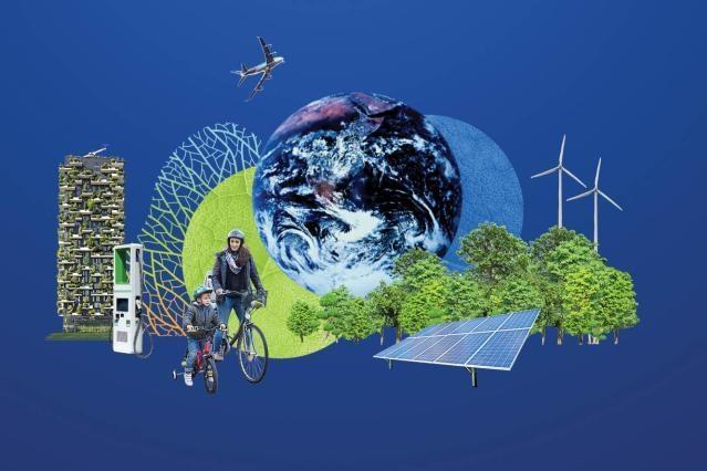 Ilustracja do informacji: Europejski Zielony Ład: KE proponuje przekształcenie gospodarki i społeczeństwa UE, aby osiągnąć ambitne cele klimatyczne