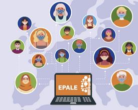 Ilustracja do informacji: EPALE: wyszukiwarka partnerów do projektów kształcenia i szkolenia Erasmus+ oraz dzielenia się dobrymi praktykami