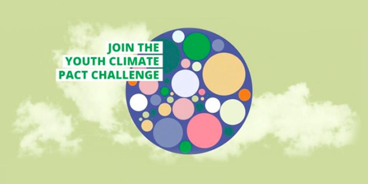 Ilustracja do informacji: Weź udział w inicjatywie dla młodzieży w ramach Paktu na rzecz Klimatu
