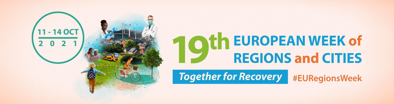 Ilustracja do informacji: Rozpoczął się Europejski Tydzień Regionów i Miast 2021